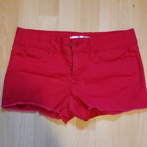 Red sz 5 jean shorts